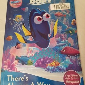 Finding Dory Coloring and Sticker Book